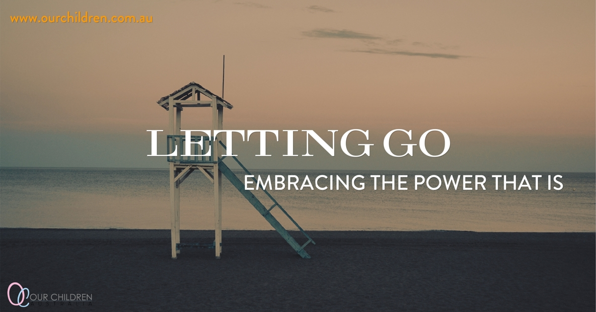 Embracing the power of letting go will change the way you co-parent. blog article image