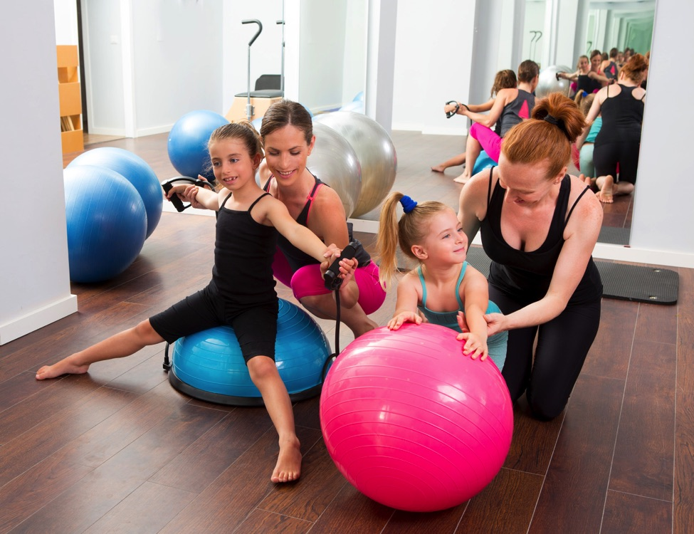 Making exercising and pilates fun for kids. blog article image