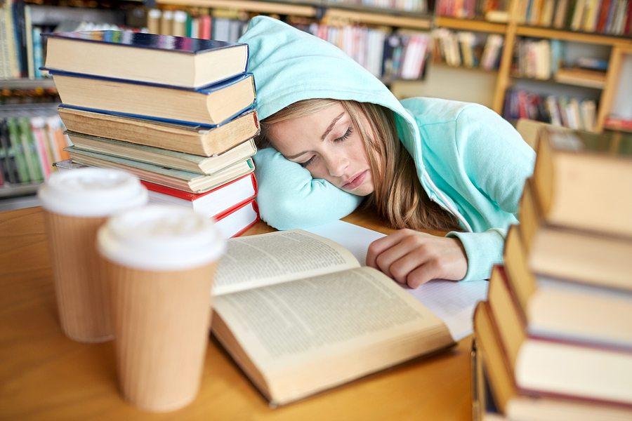 Here are some tips on getting through exams so you can help your children! blog article image