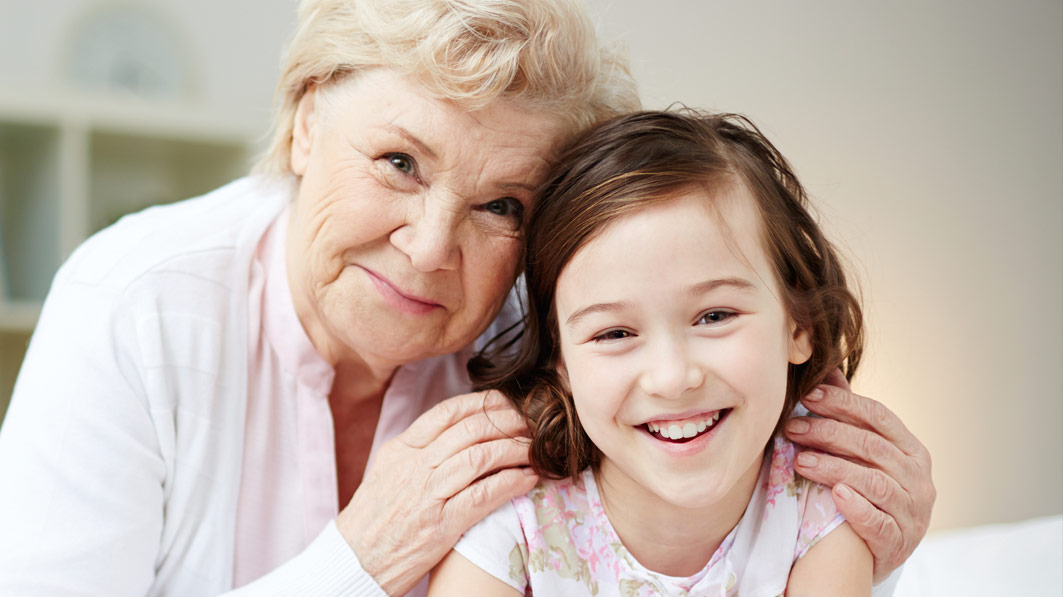 Raising children caring for elderly parents blog article image